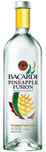 Bacardi Rum Pineapple Fusion 750ml